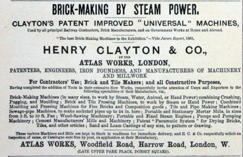 clayton brick making advert