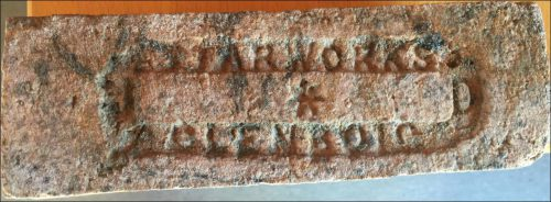 Starworks Glenboig brick found on a shipwreck in the Baltic Sea near Rostock, Germany.