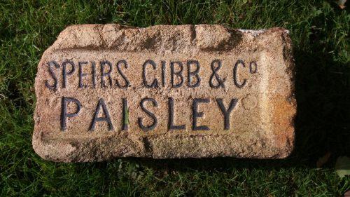 Speirs Gibb & Co Paisley  - Caledonia