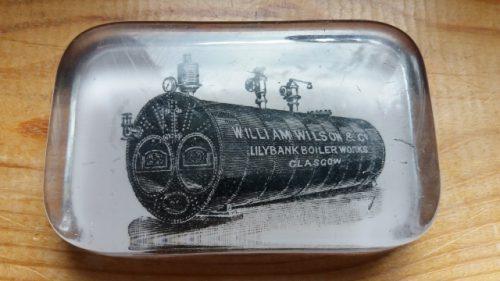 GR Stein Refractories memorabilia - harley marshall