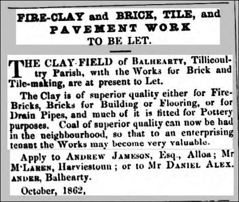 1862-balhearty-brick-and-tile-works-tillicoultry-for-sale