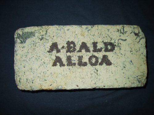 alexander-bald-alloa-brick-found-on-a-ship-wreck-denmark